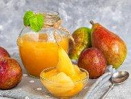 Рецепта Сладко от цели круши Петровки в бурканчета (зимнина)